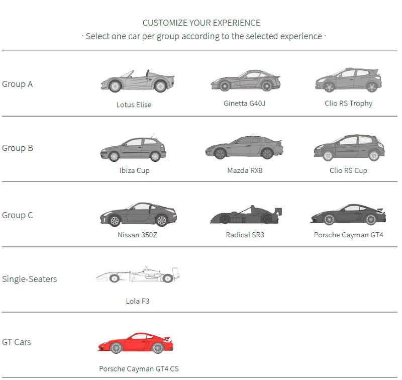 Тестовые гонки на спортивных автомобилях