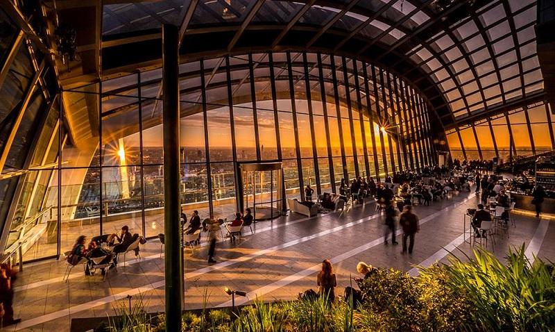 Смотровая площадка Лондона