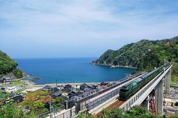Железнодородный круиз в Японию